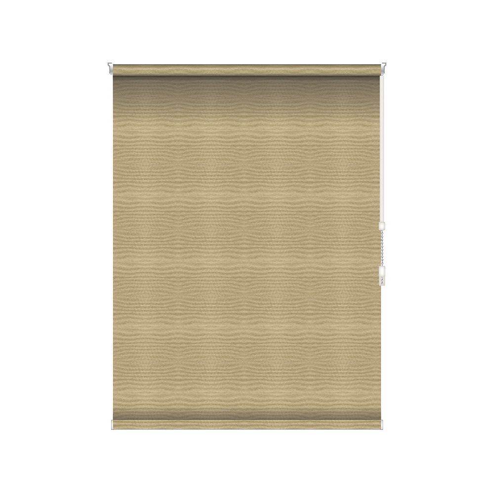 Sun Glow Tissue Opaque Toiles à Rouleau - Rouleau Ouvert à Chaîne - 75.75-po X 84-po en Champagne