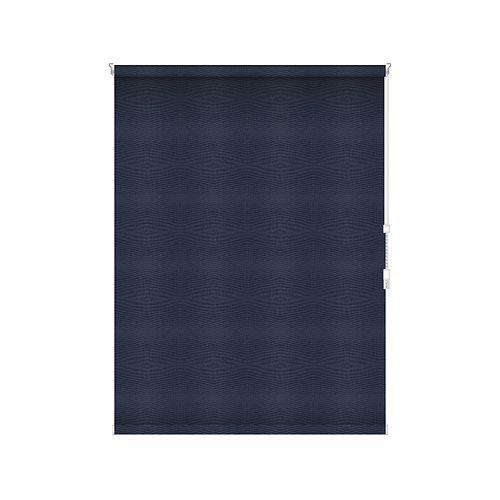 Sun Glow Tissue Opaque Toiles à Rouleau - Rouleau Ouvert à Chaîne - 54.5-po X 60-po en Marine