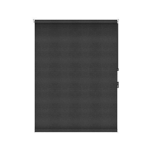 Sun Glow Blackout Roller Shade - Chain Operated Open Roll - 60.75-inch X 60-inch in Denim