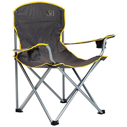 Ultra résistant chaise pliante - Gris
