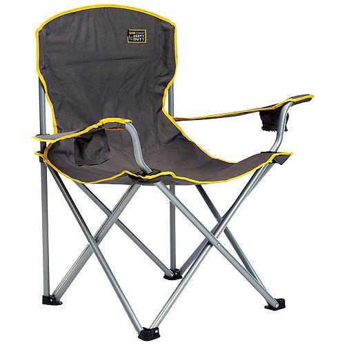Heavy Duty Folding Chair - Gray