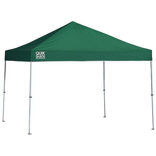 Quik Shade Weekender Elite WE100 10 x 10 ft. Straight Leg Canopy - Green