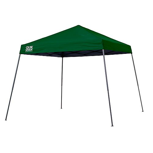 Quik Shade Expedition EX81 12 x 12 ft. Slant Leg Canopy - Green