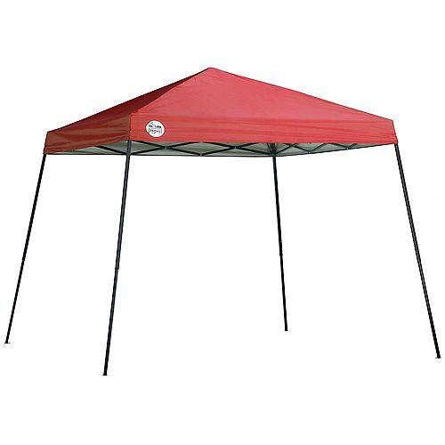 Shade Tech ST64 10 X 10 ft. Slant Leg Canopy - Red