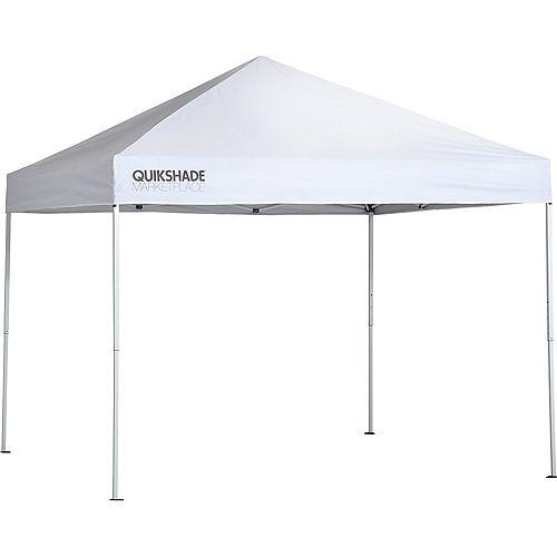 Marketplace MP100 10 x 10 ft. Straight Leg Canopy - White