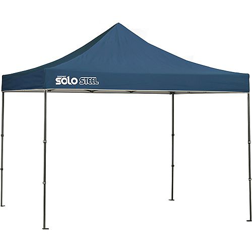 Quik Shade Solo Steel 100 10 x 10 ft. Straight Leg Canopy - Midnight Blue
