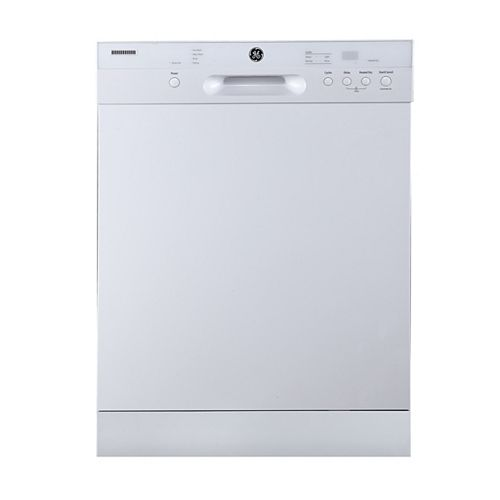 Built-in Tall Tub Dishwasher with Stainless Steel Interior in White