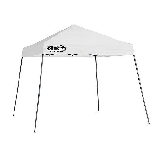 Quik Shade Expedition EX64 One Push 10 x 10 ft. Slant Leg Canopy - White