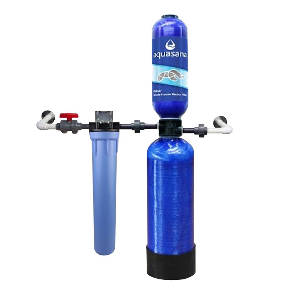 Aquasana 10 ans 1 million gallon système de filtration de l'eau à la maison entière