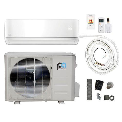 12,000 BTU 17.5 SEER Quick Connect Mini-Split Heat Pump Kit (115V)