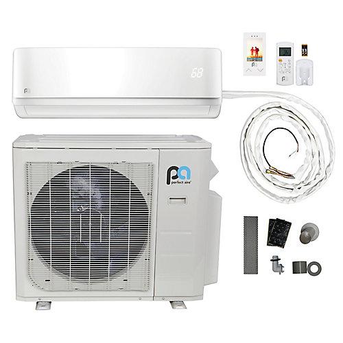 36,000 BTU 16 SEER Quick Connect Mini-Split Heat Pump Kit (230V)