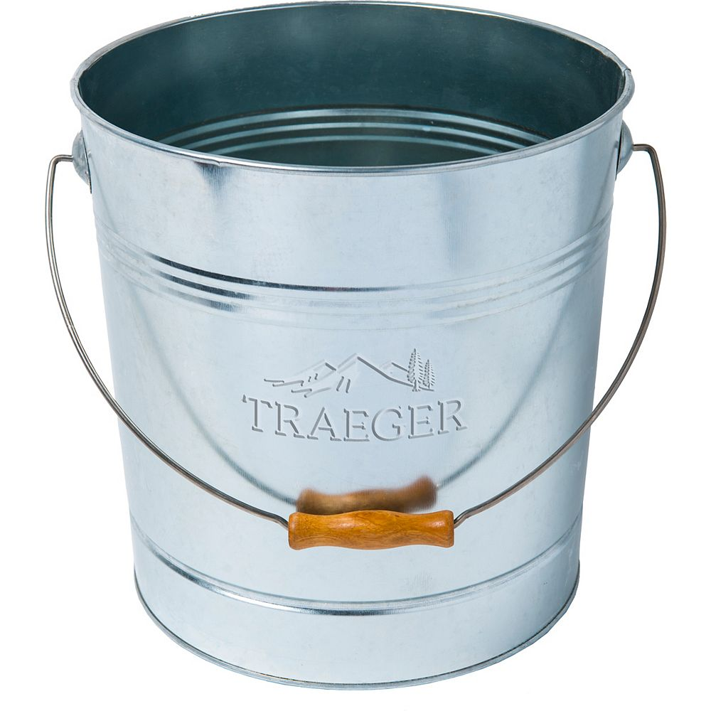 Traeger 20 lbs. Pellet Metal Storage Bucket