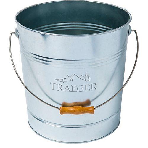 20 lbs. Pellet Metal Storage Bucket