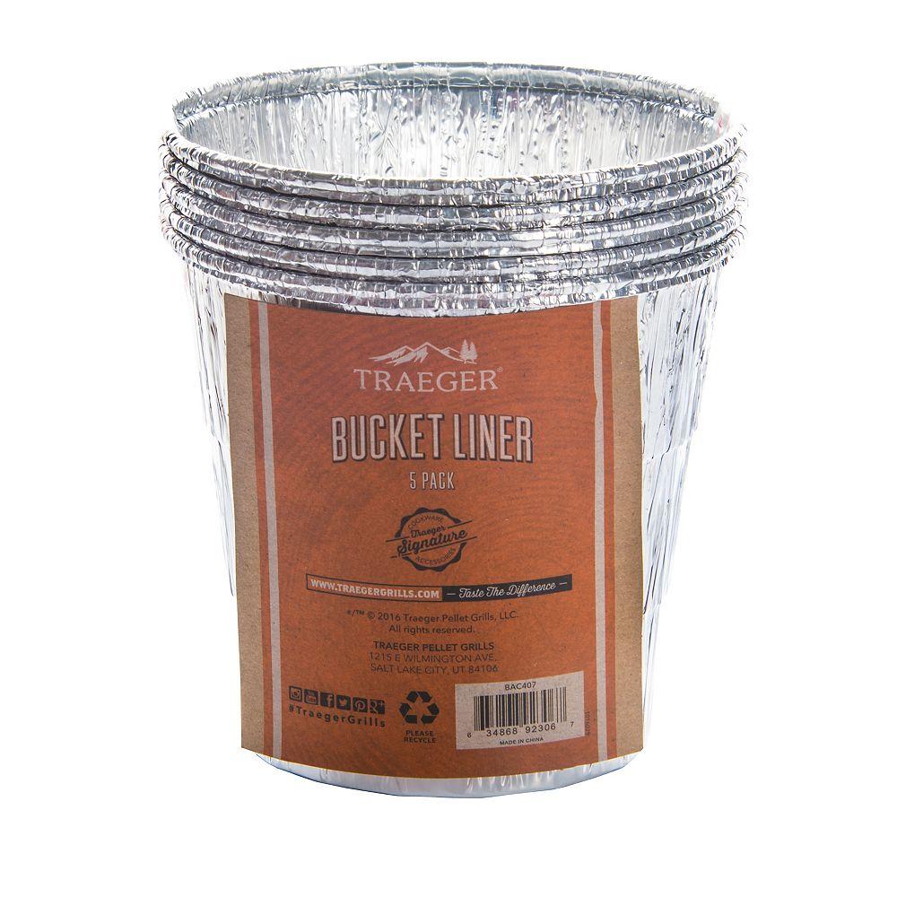 Traeger 5-Pack Bucket Liner
