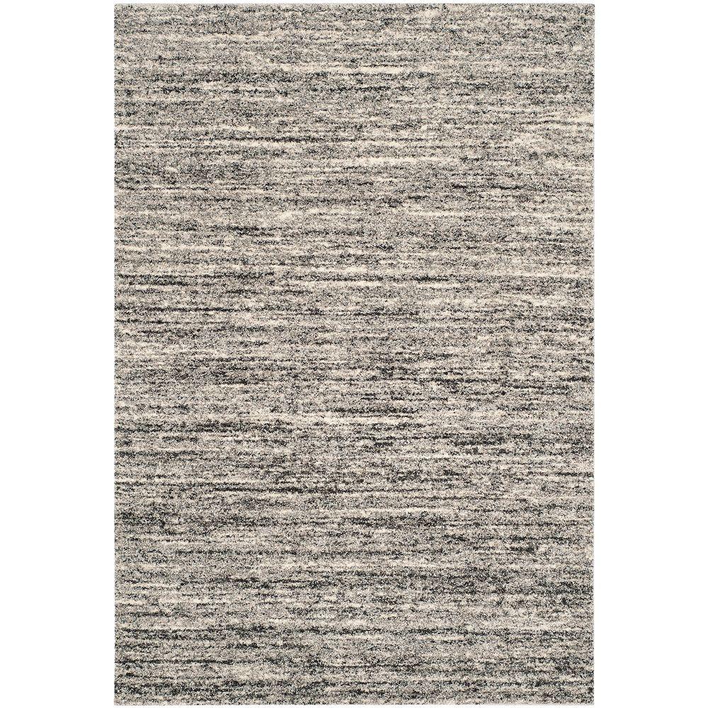 Safavieh Tapis d'intérieur, 3 pi x 5 pi, Retro Wright, ivoire / gris