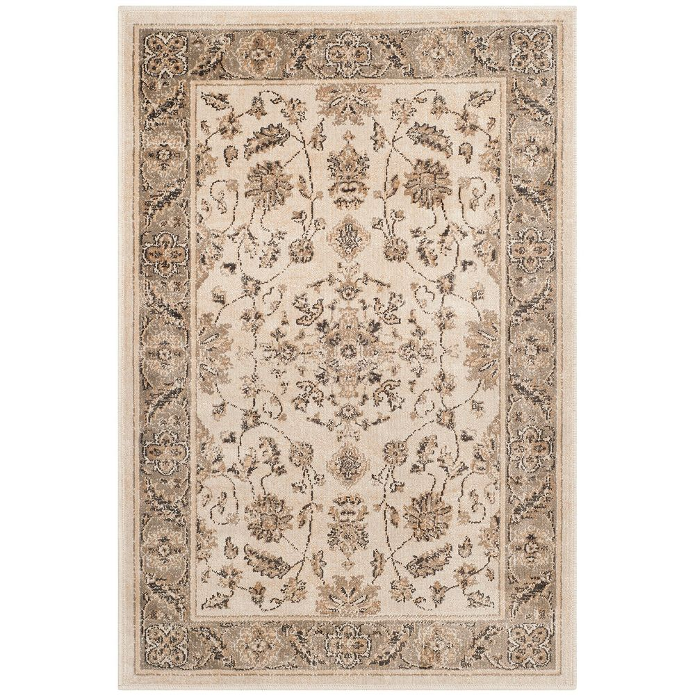 Safavieh Vintage Laird Stone / Mouse 2 ft. 7-inch x 4 ft. Indoor Area Rug