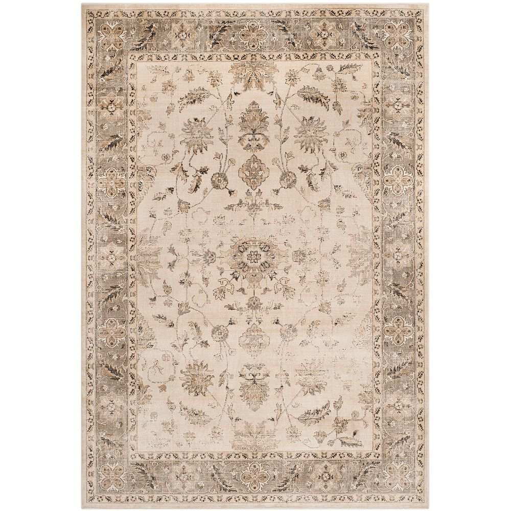 Safavieh Vintage Laird Stone / Mouse 7 ft. 6-inch x 10 ft. 6-inch Indoor Area Rug