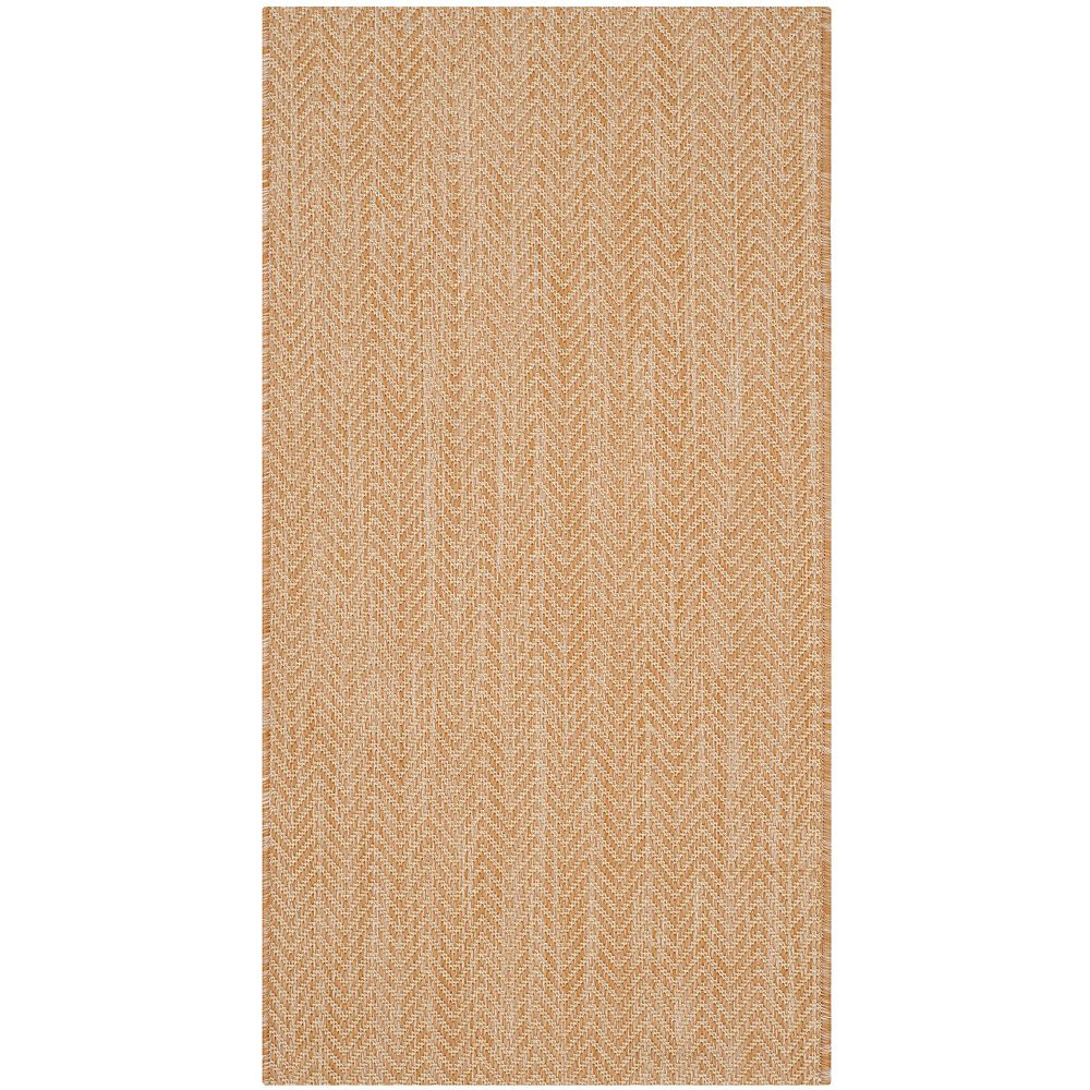 Safavieh Courtyard Molly Natural / Cream 2 ft. x 3 ft. 7-inch Indoor Area Rug