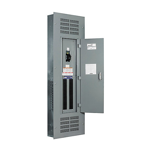 300 Amp, 42 Spaces/84 Circuits Maximum, NQ  Flush Mount Service Entrance Loadcentre