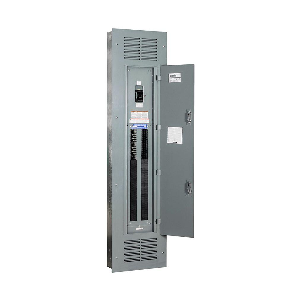 Schneider Electric  Square D 300 Amp, 84 espaces/120 circuits maximum, panneau de distribution encastré NQ à entrée de service