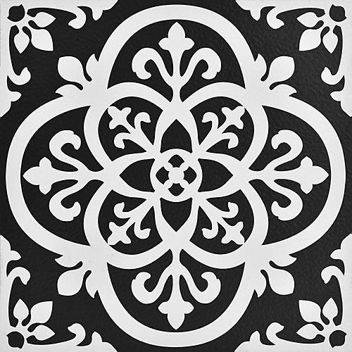 Gothic 12-inch x 12-inch Peel & Stick Vinyl Tile Flooring (20 sq. ft. / pack)