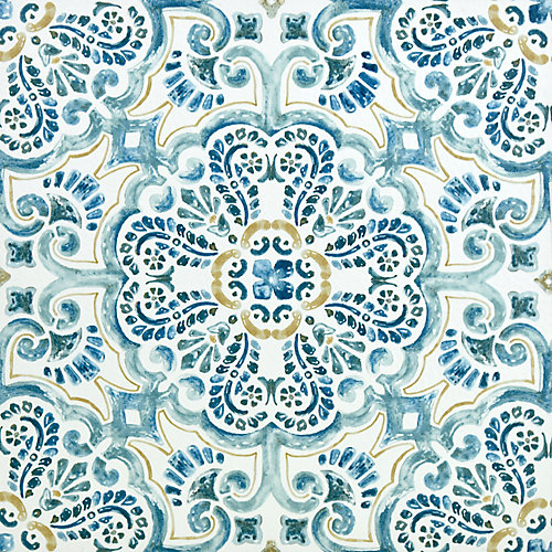 Fontaine 12-inch x 12-inch Peel & Stick Vinyl Tile Flooring (20 sq. ft. / pack)