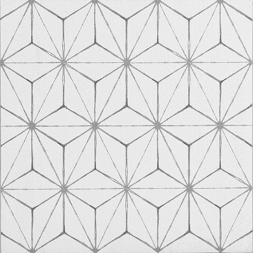 Kikko 12-inch x 12-inch Peel & Stick Vinyl Tile Flooring (20 sq. ft. / pack)