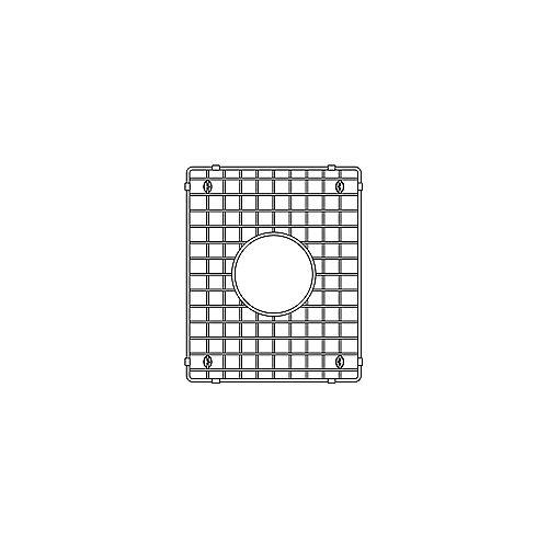 Grille d'évier PRECIS U 1.75 à diviseur bas (petit cuve), aceir inoxydable