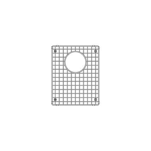 Small Bowl Sink Grid for QUATRUS U 1.75, Stainless Steel