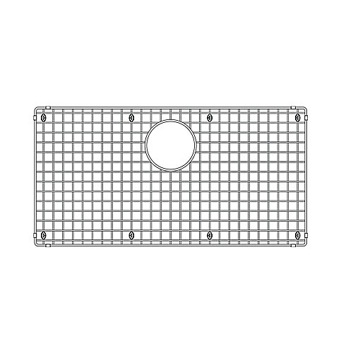 14.5 inch x 28.5 inch Sink Grid, Stainless Steel