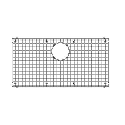 Sink Grid for QUATRUS U SUPER SINGLE, Stainless Steel