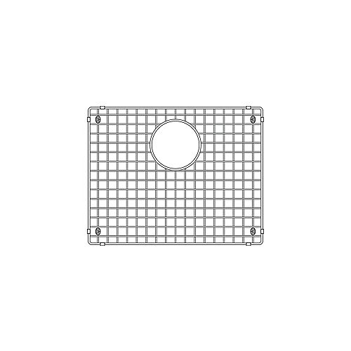 Sink Grid for QUATRUS U 1, Stainless Steel