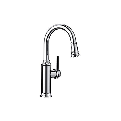 EMPRESSA Pull-down Bar/Prep Faucet, Chrome