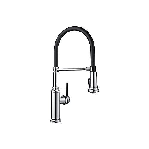 EMPRESSA Pull-down Semi-Pro Faucet, Chrome
