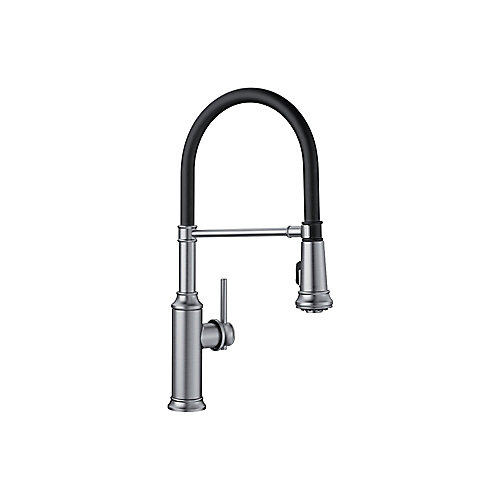EMPRESSA Pull-down Semi-Pro Faucet, Stainless Finish