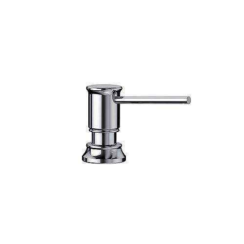 EMPRESSA Soap Dispenser, Chrome, (355 ml) 12 fl oz.