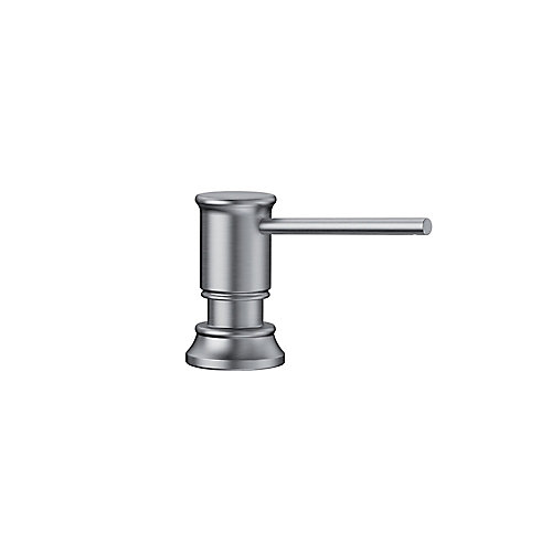 EMPRESSA Soap Dispenser, Stainless Finish
