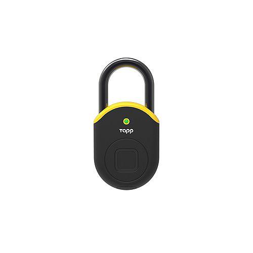 Cadenas intelligent Bluetooth Lite lecteur d'empreintes digitales biométriques – jaune