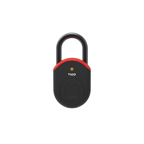 Cadenas intelligent Bluetooth Lite lecteur d'empreintes digitales biométriques – rouge