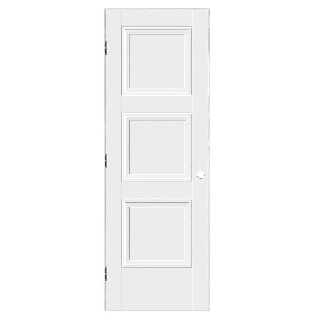 Masonite 28-inch x 80-inch Livingston Left Hand Interior Pre hung Door