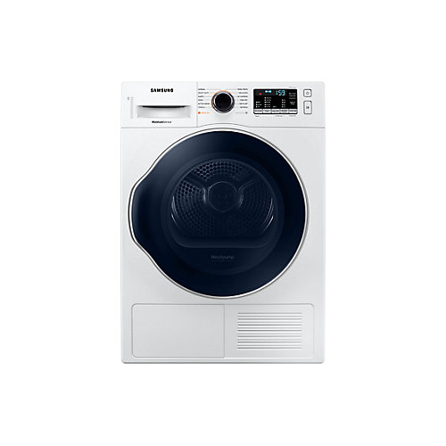 4.0 cu.ft. Compact Front Load Ventless Electric Dryer in White