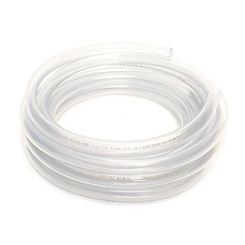Tube en vinyle transparent