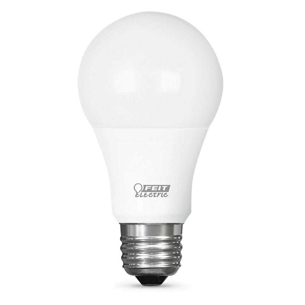 Feit Electric 60W Eq Soft White (2700K) A19 IntelliBulb Switch to Dim 3-Level LED Light Bulb