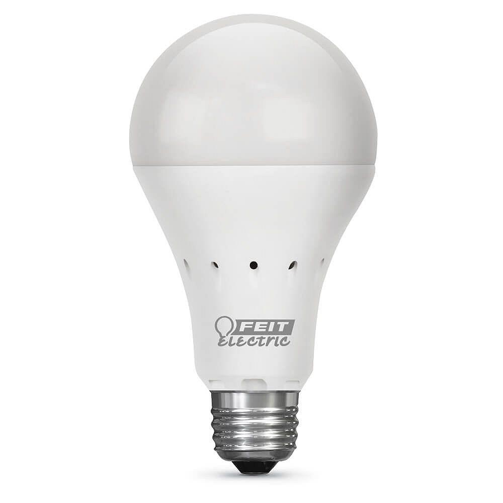Feit Electric 40W Eq Soft White (2700K) A21 IntelliBulb Battery Backup LED Light Bulb