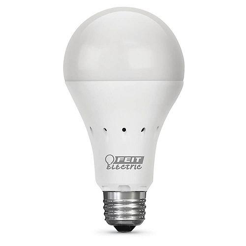 40W Eq Soft White (2700K) A21 IntelliBulb Battery Backup LED Light Bulb