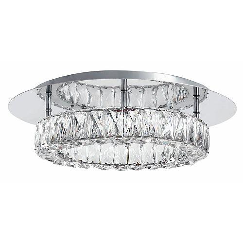 Montage encastré de la LED cristal