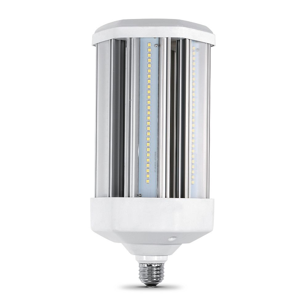 Feit Electric 500-Watt Equivalent Corn Cob High Lumen Output Daylight (5000K) HID Utility LED Light Bulb