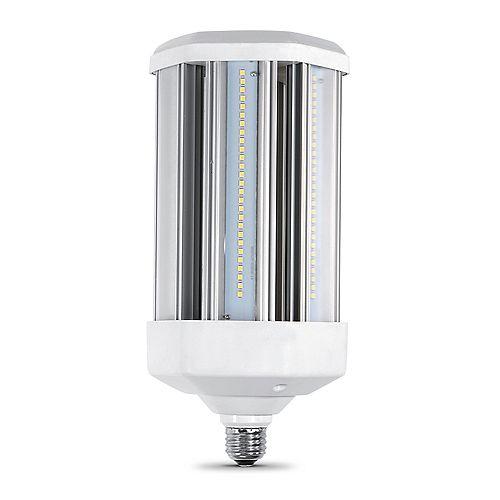 500-Watt Equivalent Corn Cob High Lumen Output Daylight (5000K) HID Utility LED Light Bulb