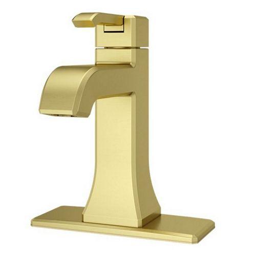 Pfister Park Avenue Single Control Lav Faucet Brushed Gold