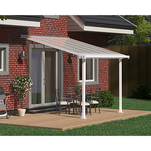Olympia Patio Cover System 10 ft. x 10 ft. - White